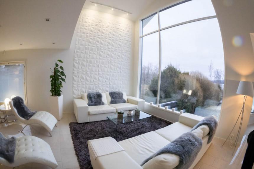 Olohuone ja TV-huone